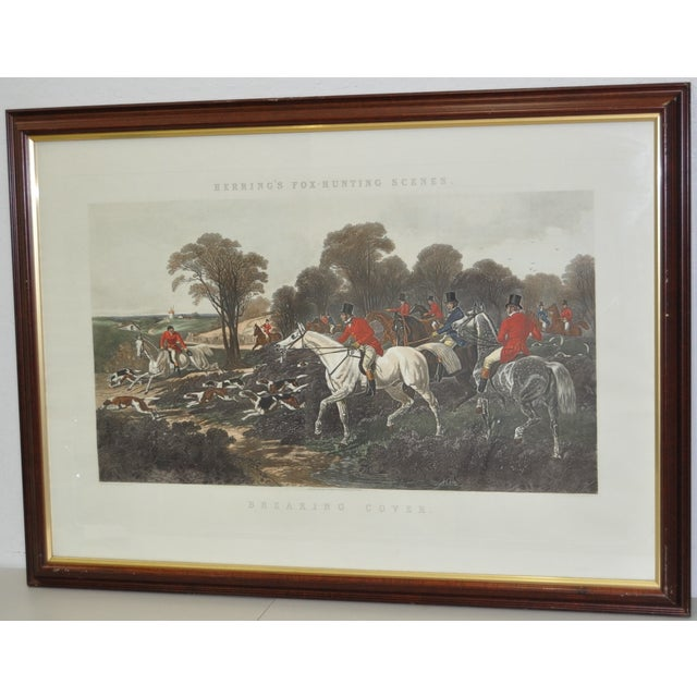 19th Century Fox Hunt Engravings - Set of 4 - Image 5 of 8