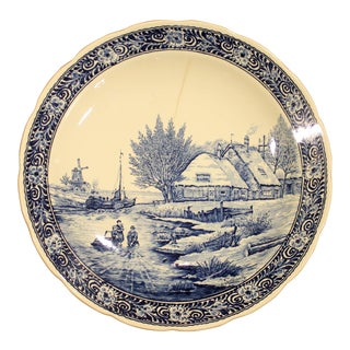 Boch Delft Plate or Charger
