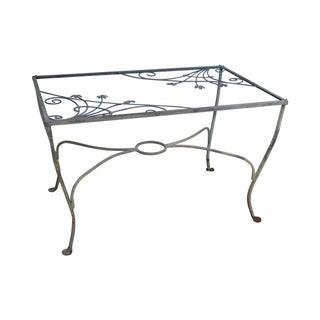 Salterini Art Nouveau Iron Patio Dining Table