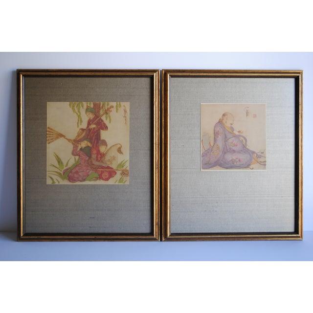 Vintage Asian Prints - Set of 2 - Image 2 of 10