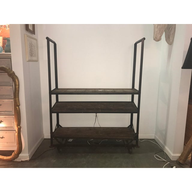 Antique Industrial Cobblers Shoe Rack Shelving Unit - Image 10 of 11