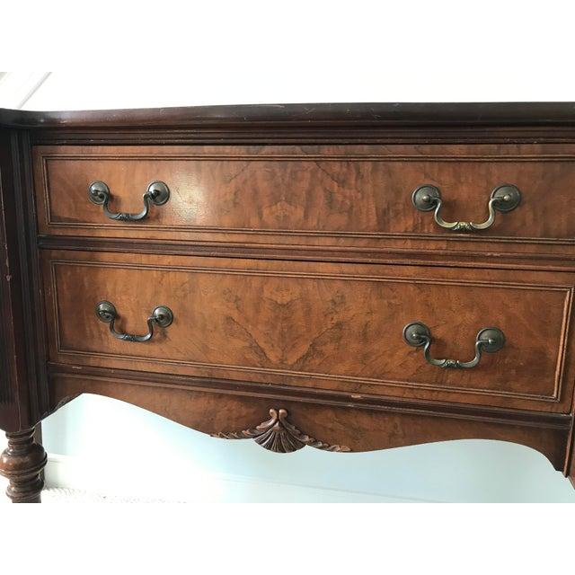Vintage Detailed Wood Sideboard - Image 7 of 10