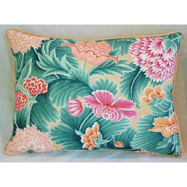 Designer Brunschwig & Fils Floral Pillow - Image 2 of 4
