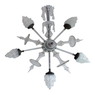 Glass Star Pendant Fixture