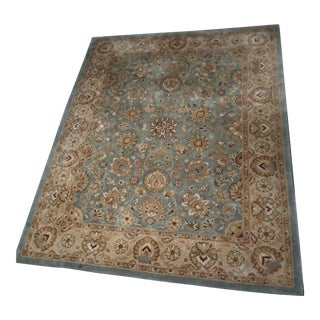 Kaimuri Medallion Wool Area Rug - 8″ × 10″