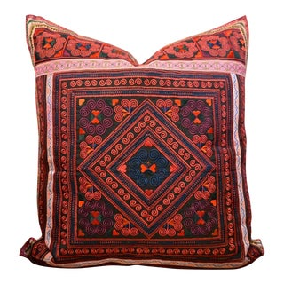 Four Points Ethnic Embroidered Pillow
