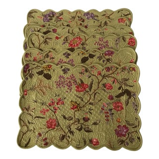 Floral Reversible Placemats - Set of 6
