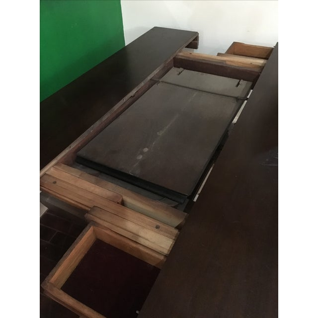 Antique Adjustable Library Table - Image 9 of 10