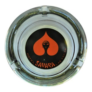 Vintage Sahara Casino Ashtray