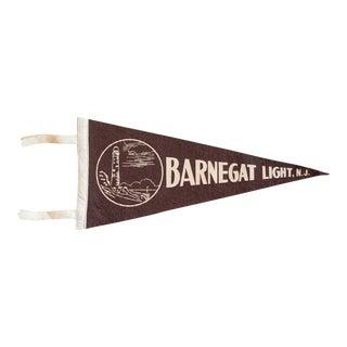 Barnegat Light NJ Felt Flag