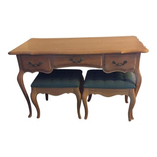 Antique Ethan Allan French Country Desk