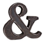 Image of Cast Iron Ampersand Paperweight