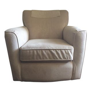 Neutral Gliding Armchair