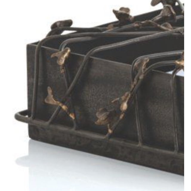 Butterfly Metal Iron Box - Image 4 of 4