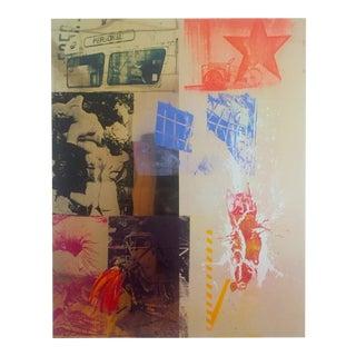 """1988 """"Favor Rites 2""""Robert Rauschenberg Original Offset Lithograph Print"""