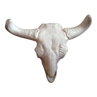 Vintage Faux Cow Skull