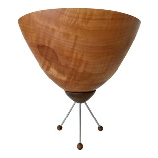 Mid-Century Modern Chad Eames Woodworking Sculpture