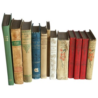 Antique & Vintage Book Collection - Set of 12