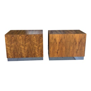 Milo Baughman for Thayer Coggin Nightstands - A Pair