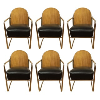 Le Corbusier Tubular Chairs - Set of 6