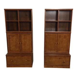 Pottery Barn Kids Bookcases - A Pair