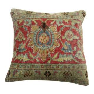 Persian Tabriz Rug Pillow