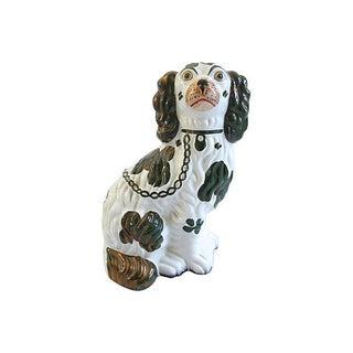 1850s Staffordshire King Charles Dog Figurine