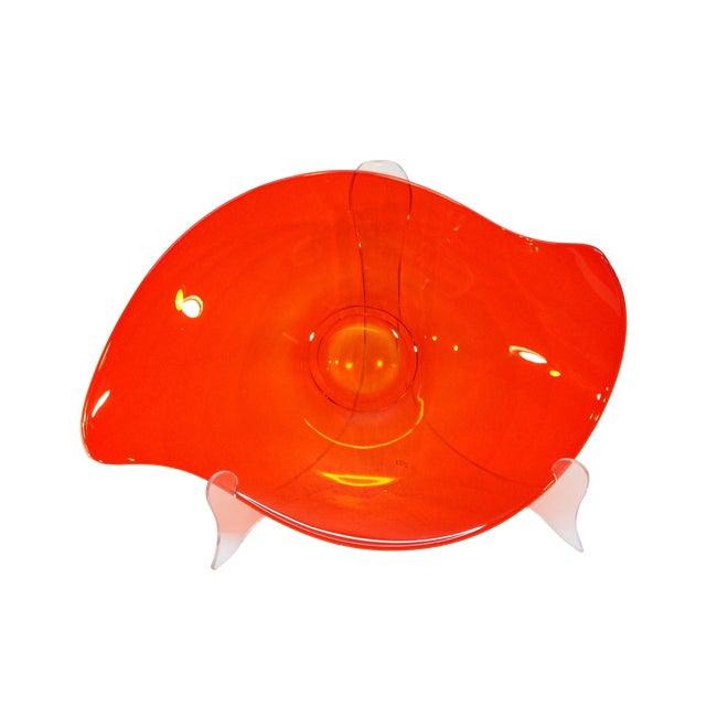 """Viking """"Epic"""" Orange Console Bowl - Image 1 of 4"""
