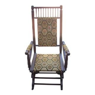 Vintage Platform Chair