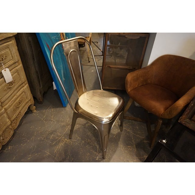 Vintage Style Metal Chair - Image 3 of 4