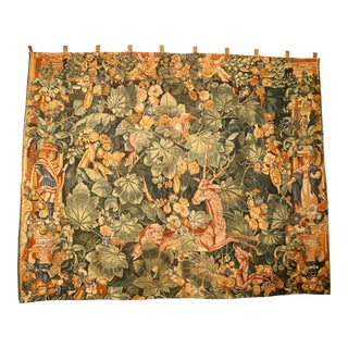 Vintage French Wall Tapestry