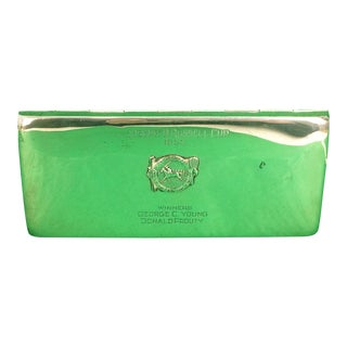 Poole Sterling 1955 Dedham Country & Polo Club Cigarette Case