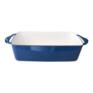 Dansk Kobenstyle Blue Loaf Pan Quistgaard