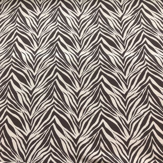 6 Yards of Indoor Outdoor Brown & Beige Zebra Fabric