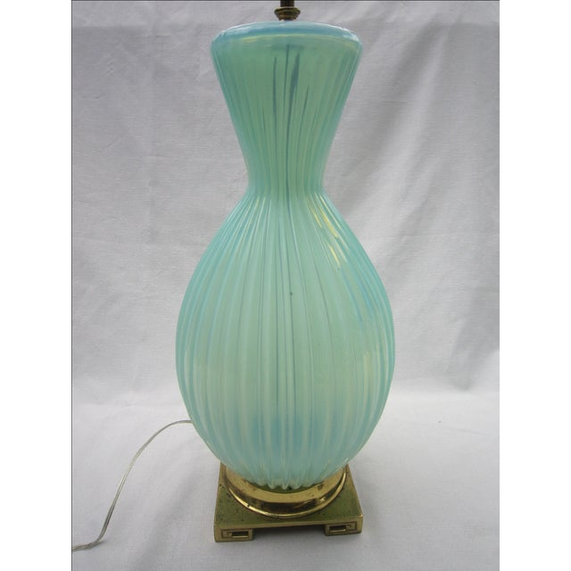 Vintage Murano Glass Lamp - Image 4 of 6