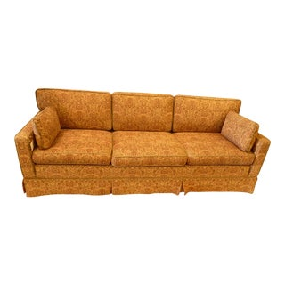 Boho Chic Tapestry Upholstered Sofa