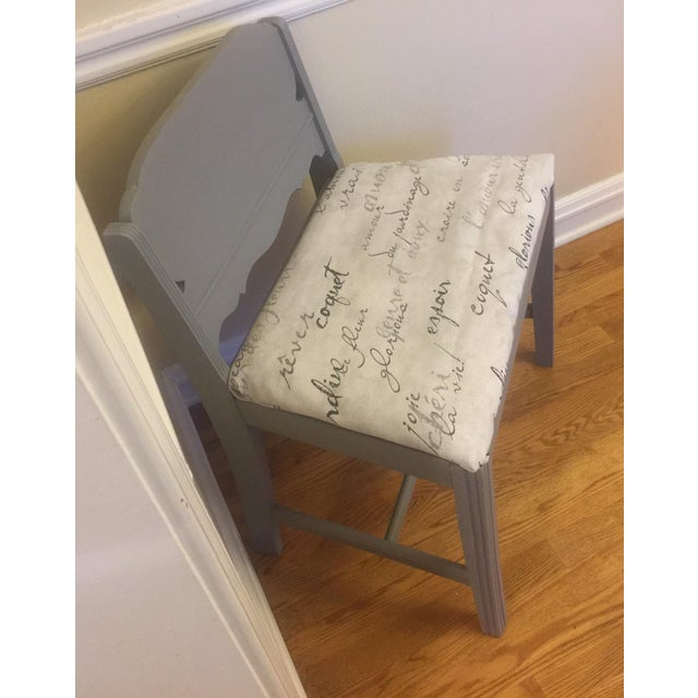 Image of Gray Accent Chair