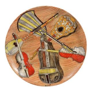 Piero Fornasetti Strumenti Musicali Plates, 1950s-1960s - Set of Six