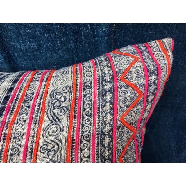 Image of Hmong Tribal Batik Pillow