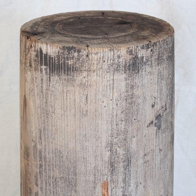Antique Redwood Column - Image 8 of 8