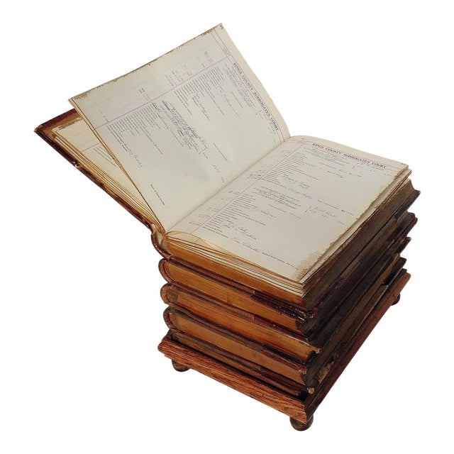 Book Form Low Stool Table - Image 1 of 5