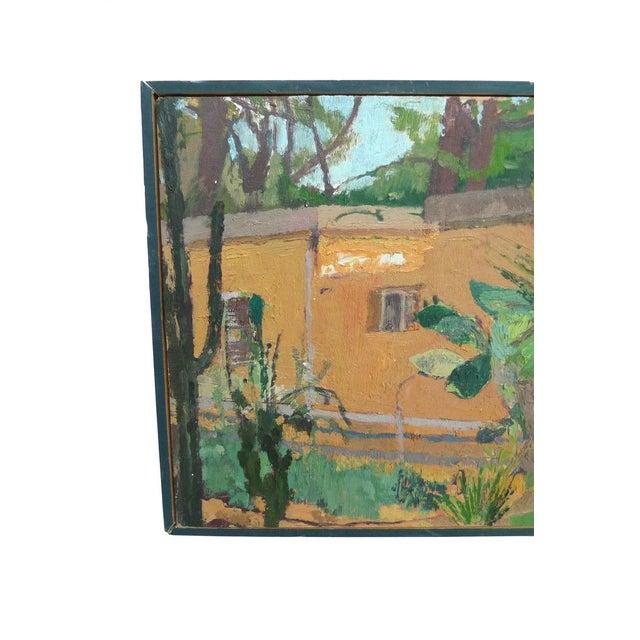 David Goodman Untitled Landscape Painting - Image 2 of 2