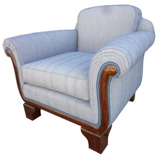 Art Deco Italian Club Chair