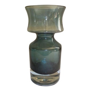 Vintage Sculptural Glass Vase