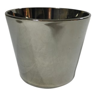 Mercury Glass Ice Bucket