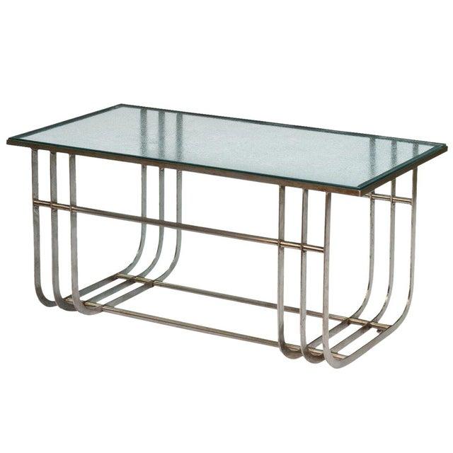 Sarreid LTD Donald Deskey Style Table - Image 1 of 9