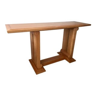 Fruitwood Veneer Sofa Table