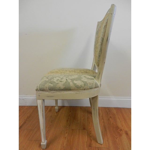 Shield Back Dining Chairs - Set of 6 - Image 5 of 8