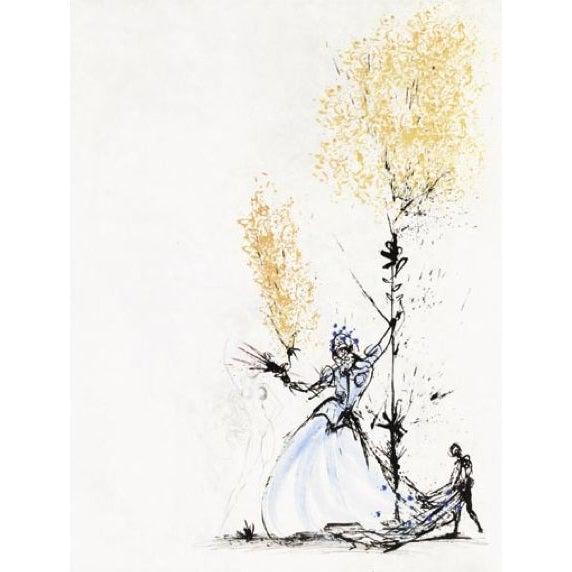 Image of Salvador Dali - La Fille a Page