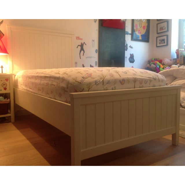 Image of Pottery Barn Teen Twin Bed & Trundle